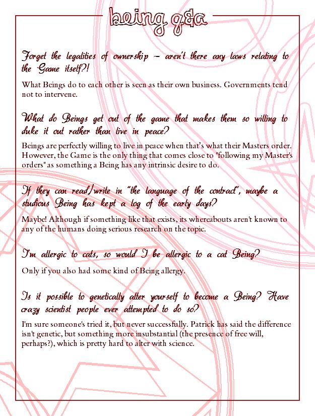 Interlude Two Q&A