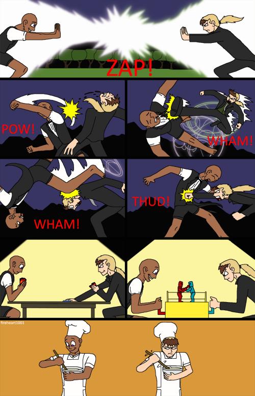 Guest Strip: Epic Showdown