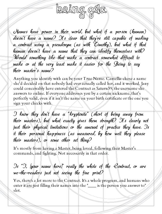 Interlude Three Q&A