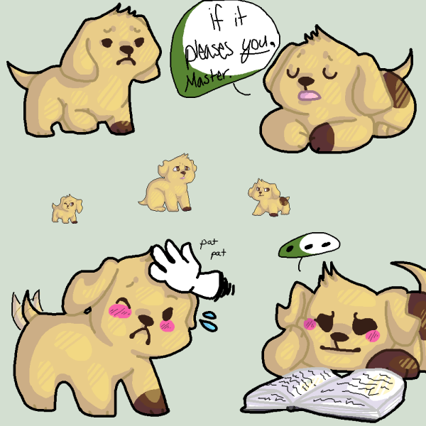 Guest Art: Puppy Patrick