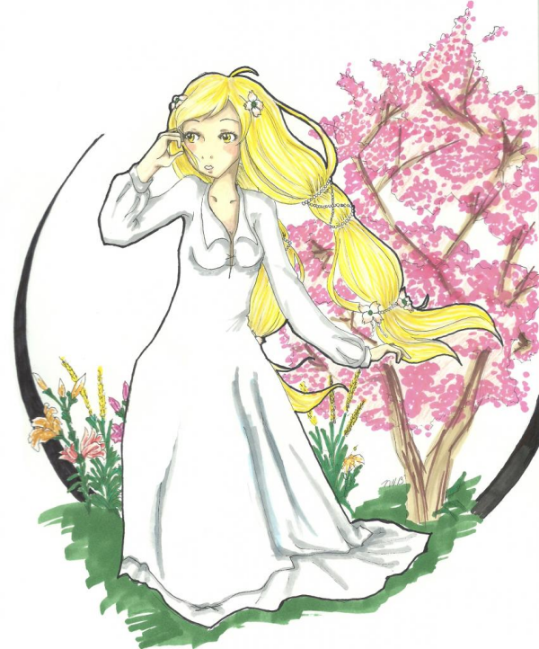 Guest Art: St. Lily