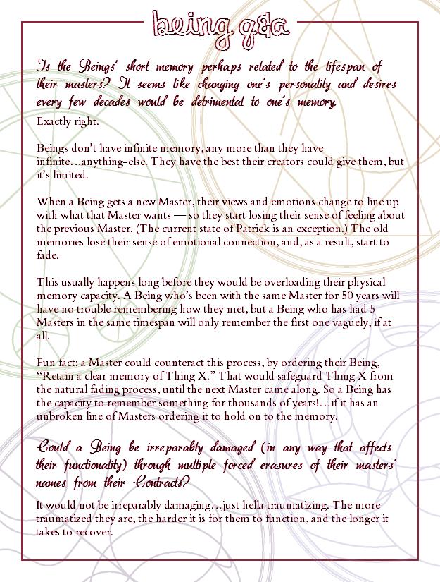 Chapter Nineteen Q&A
