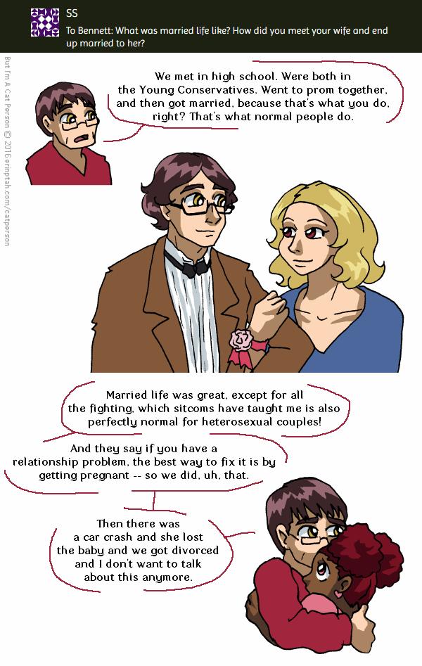 Ask A Character – Bennett 2