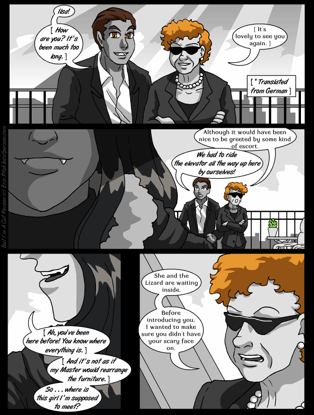 Chapter 21 p08 – It's hard up here in a penthouse