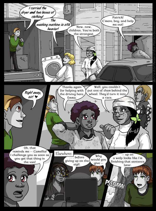 Chapter 22 p02 – Everything's a contest