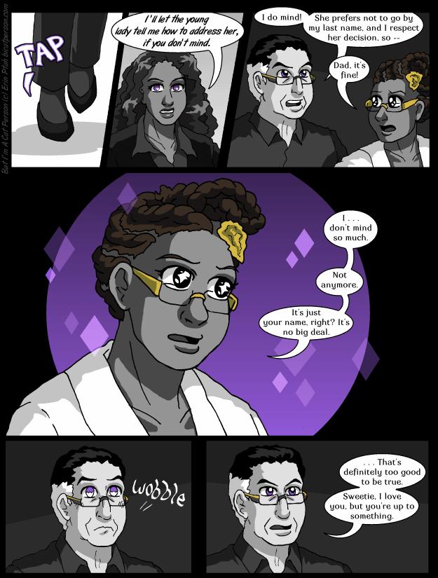 Chapter 22 p18 – Miranda tries to sparkle