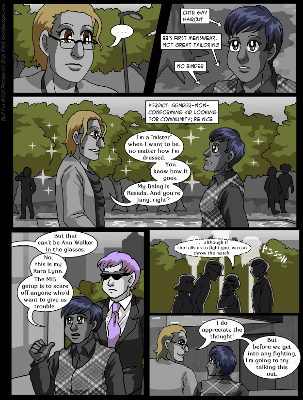Chapter 22 p26 – Pacifist route