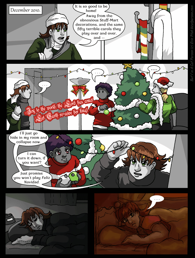 Interlude 4 p01 – Christmas overload