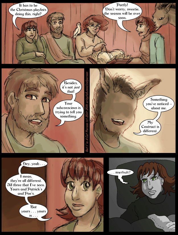 Interlude Four Page 9 – I blame Dominic the Donkey