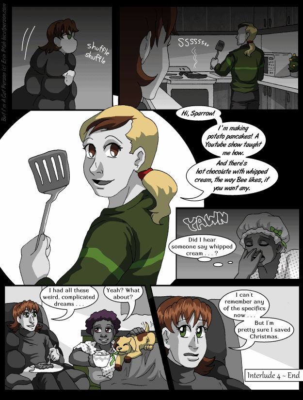 Interlude 4 p10 – Cooking with Patrick