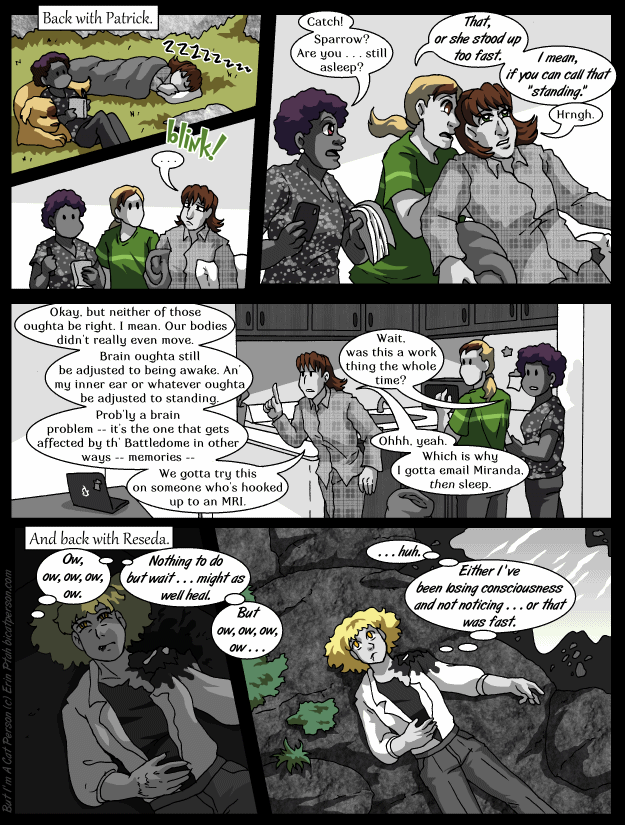 Chapter 23 p18 – Sleeping on the job