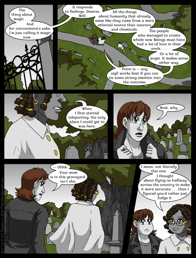 Chapter 25 Page 10 – What do you mean, Halloween season is over