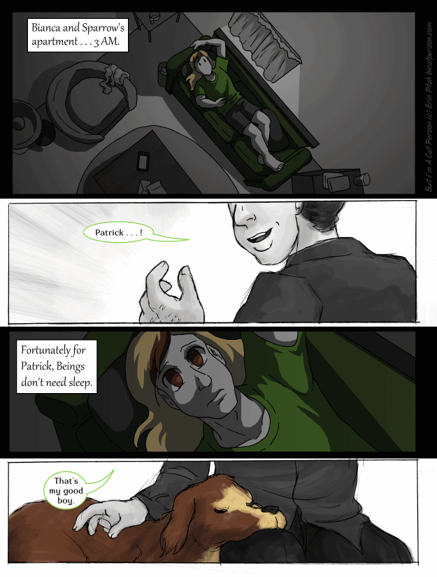 Chapter 26 Page 1 – Up all night