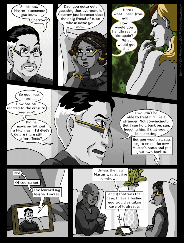 Chapter 26 Page 7 – Well, he's not wrong