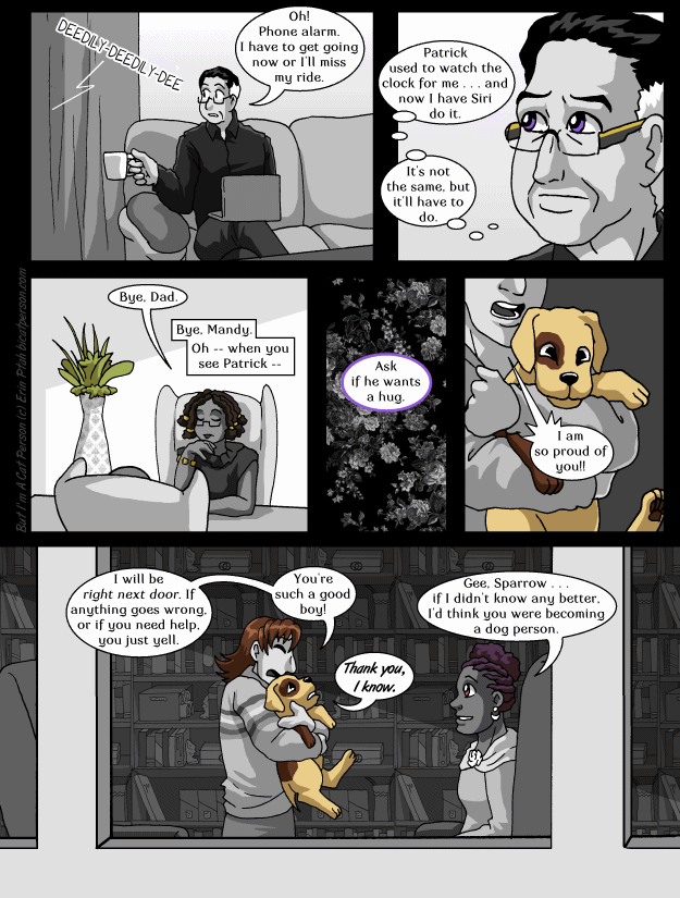 Chapter 26 page 8 – Imagine the confusion if someone named their Being Alexa.