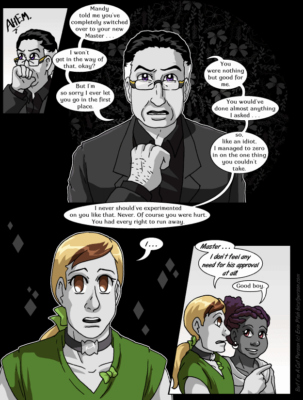 Chapter 26 page 13 – He worked really hard on this speech