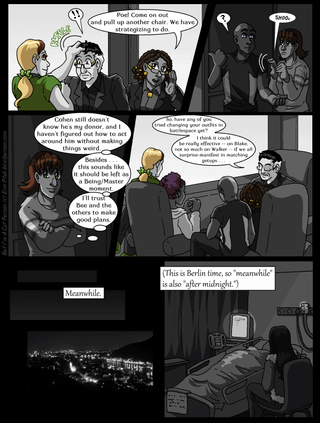 Chapter 26 page 16 – Lonely like the Wolf