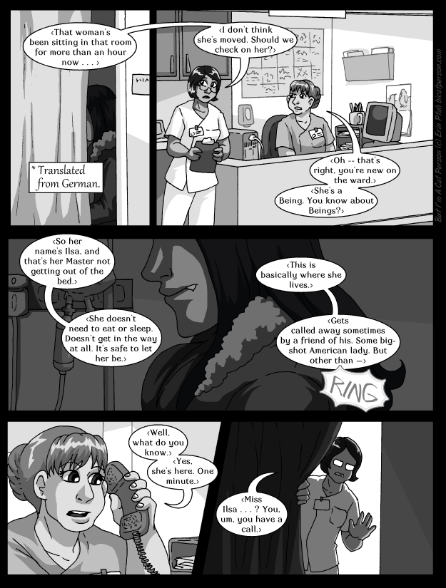 Chapter 26 page 17 – On the night shift