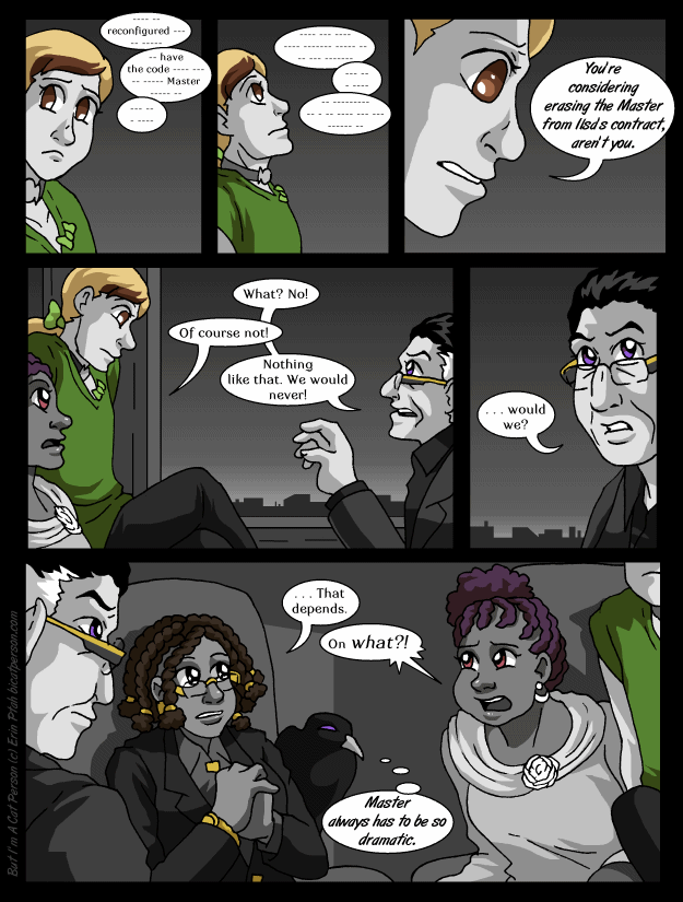 Chapter 26 Page 20 – Conversation stoppers