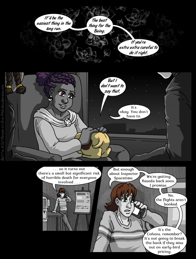 Chapter 26 page 24 – You can tell I'm moving soon