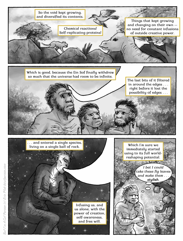 Chapter 27 page 2 ~ The origins of Aesthetic
