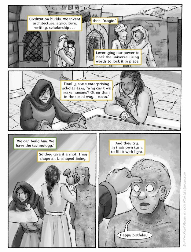 Chapter 27 page 3 ~ It's aliiiiiive!