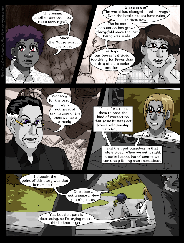 Chapter 27 page 6 ~ So we couldn't do that without at least 15 more major characters.