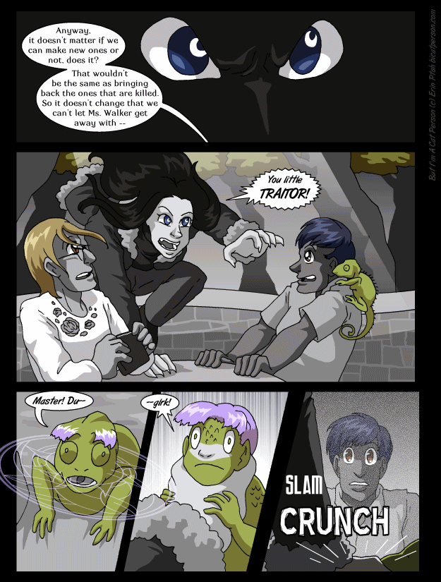 Chapter 27 page 7 ~ Smash discretion shot