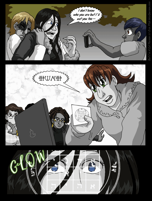Chapter 27 page 9 ~ And on the seventh panel…