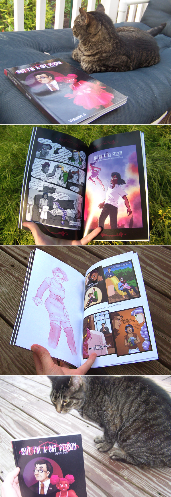 But I'm A Cat Person volume 4 is finally in print!