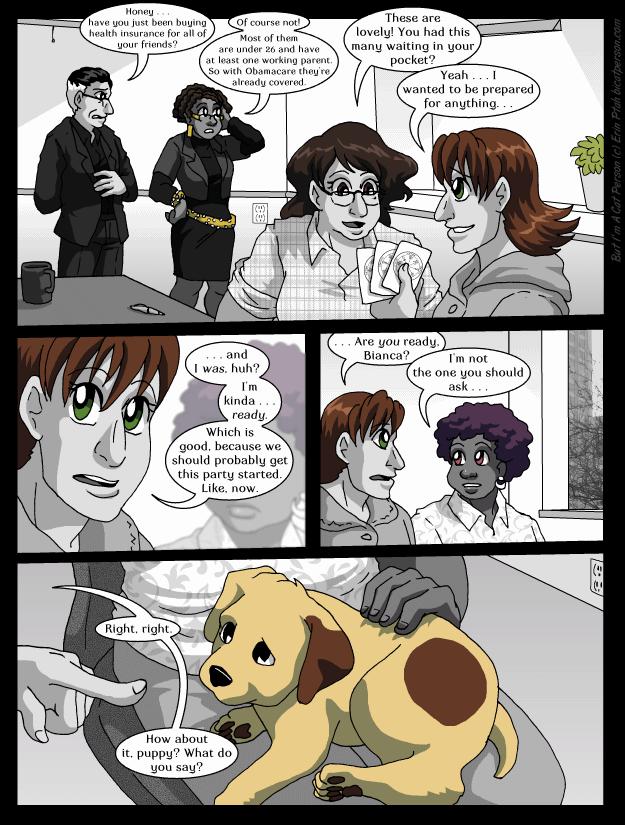 Chapter 27 page 13 ~ Speak, boy!