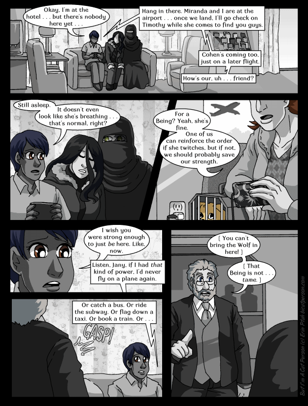 Chapter 27 page 15 ~ Safe? Who said anything about safe? 'Course she isn't safe.
