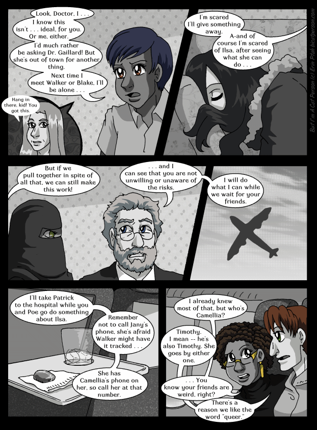 Chapter 27 page 17 ~ It's not a typical Friendship Speech, but it'll do