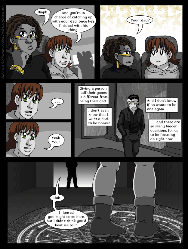 Chapter 27 page 18 ~ Who's asking the questions here?