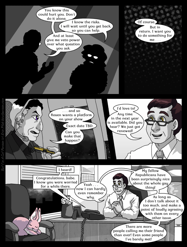 Chapter 27 page 22 ~ At least Bennett's coming-out went better than Bert and Ernie's