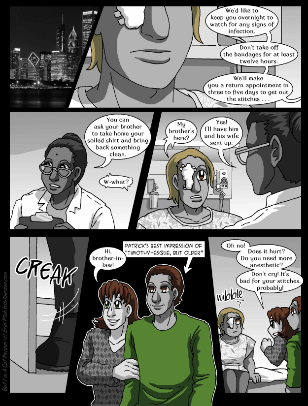 Chapter 27 page 25 ~ Prognosis: awesome anime scar