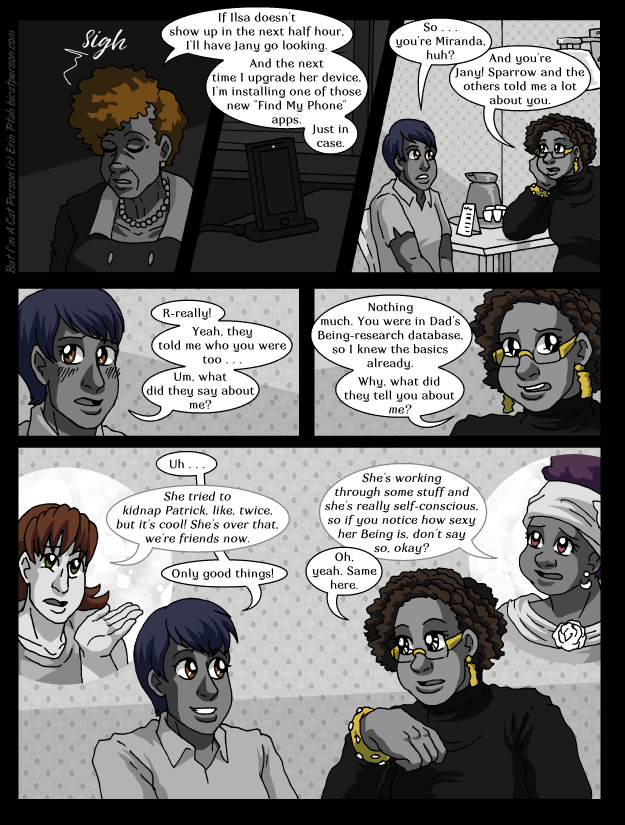 Chapter 28 page 2 ~ Poker Face vs. No Poker Face