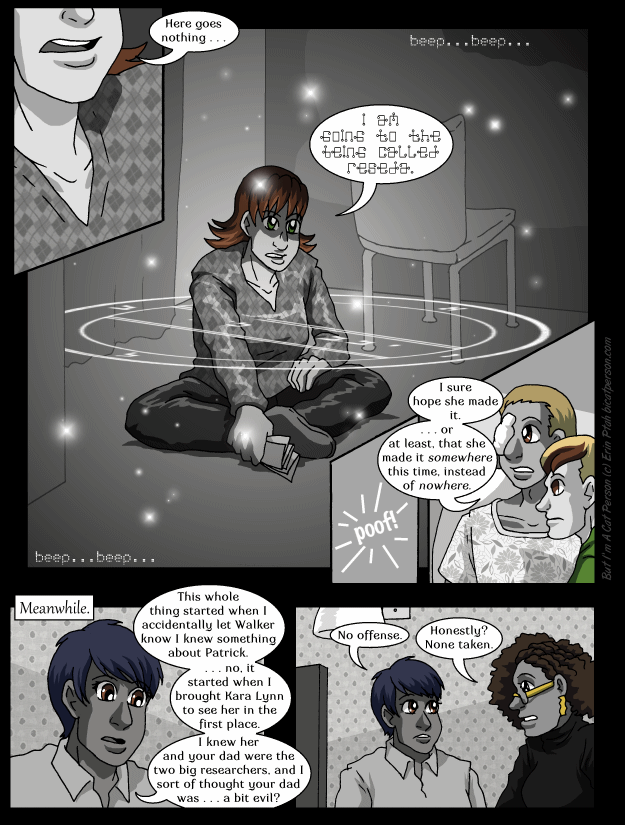Chapter 28 page 7 ~ A sparkly callback!