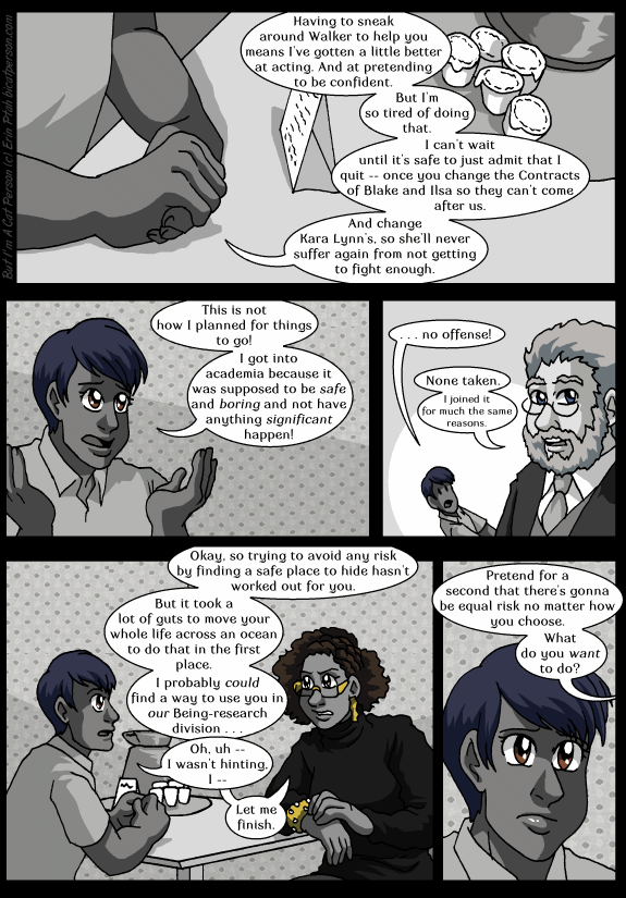 Chapter 28 page 8 ~ This is not the research experience I was looking for