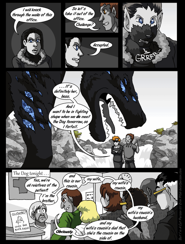 Chapter 28 page 17 ~ Someone alert FurAffinity, she's a sparklewolf