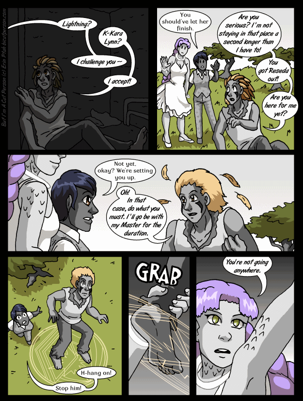 Chapter 28 page 22 ~ Get back down to earth, featherhead