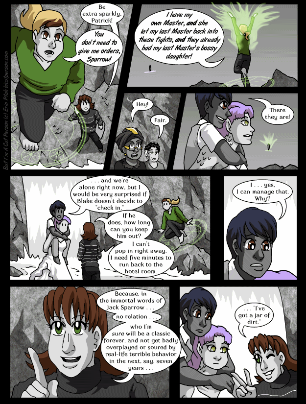 Chapter 28 page 24 ~ Delayed because I decided at the very last minute to add that reaction shot