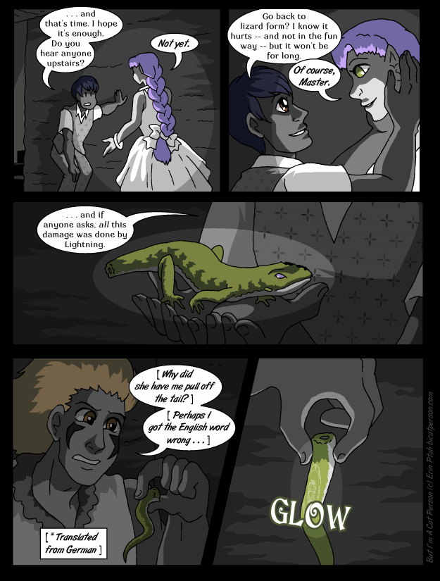 Chapter 28 page 25 ~ A trick of the tail