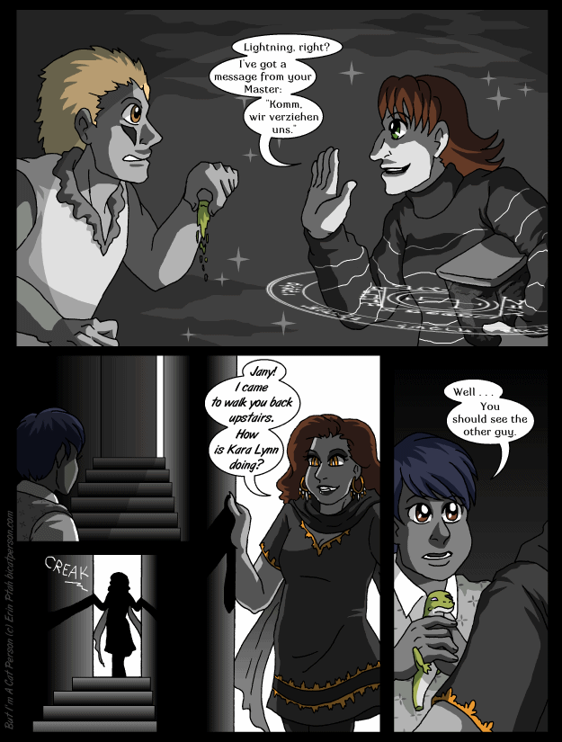 Chapter 28 page 26 ~ You should see the other guy