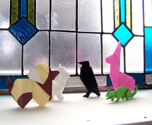 Origami Beings