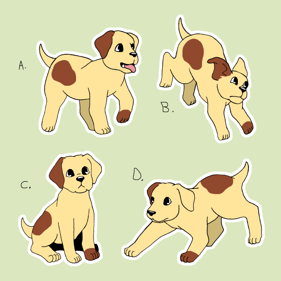 The promised puppy-Patrick premiere pin poll