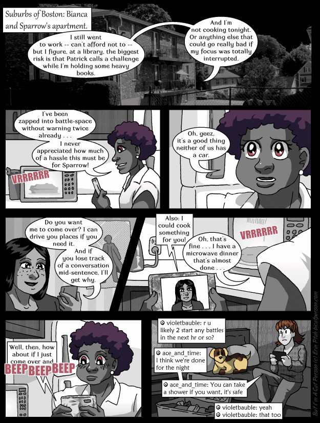 Chapter 29 page 1 ~ A conveniently-timed microwave