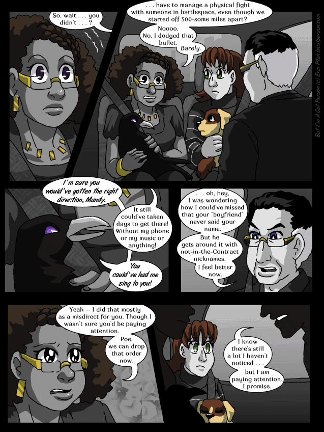 Chapter 29 page 9 ~ Rolling up to the showdown in a limo