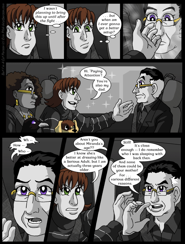 Chapter 29 page 10 ~ Sparrow, master of the Dad Joke
