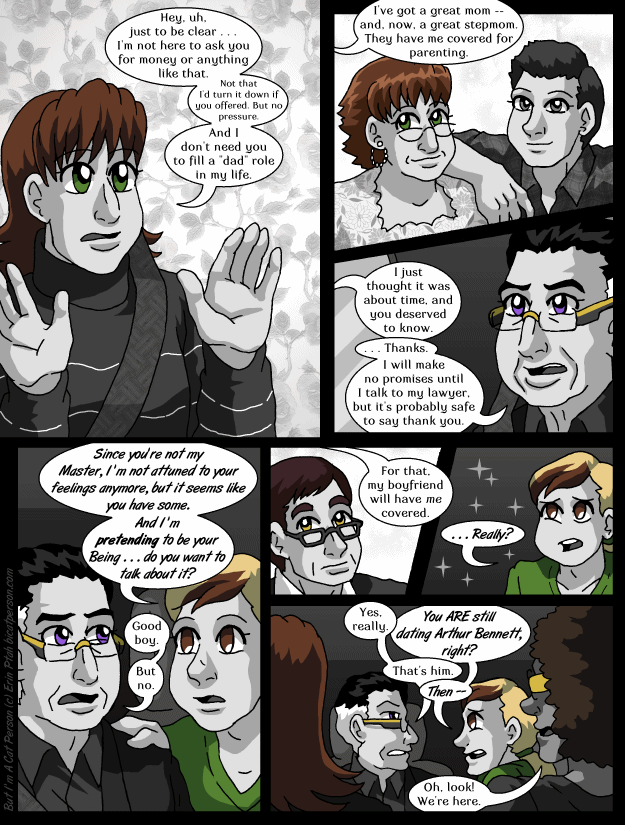 Chapter 29 page 12 ~ Are we talking about the same boyfriend?